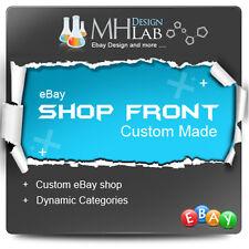 Professionnels ebay custom shop front conception de boutique ebay boutique ebay