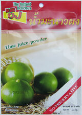 Thai Instant Delicious Lime Juice Powder Lemon Food and Drink No Preservative