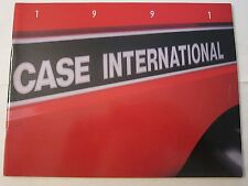 1991 Case International Tractor Equipment Buyer's Guide Catalog LOTS More Listed