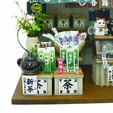"JAPAN Billy doll house ""Old-style Japanese Tea Shop"" Miniature Model Kit"