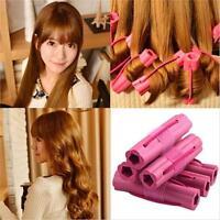 Magic Foam Rollers Sponge Hair Styling Soft Curler Twist DIY Tool 6pcs/Set NEW S