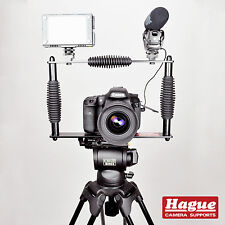 Hague Fotocamera Digitale DSLR Steadicam Gabbia con Supporti per videocamera accessorio (cfslr)