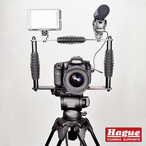 Hague Camera Cage Steady Stabilization for DSLR & Video Cameras (CFSLR)