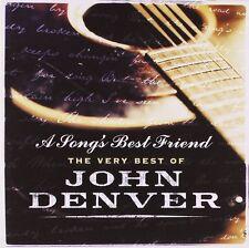 JOHN DENVER - A SONG'S BEST FRIEND - THE VERY BEST OF: CD ALBUM (2004)