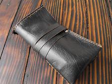 Watch Roll Travel Leather Case Storage Organizer Box Brown Luxury Pouch New