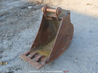 "Tag 18"" Steel Digging Bucket Excavator Backhoe bidadoo"