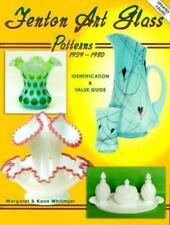 Fenton Art Glass Patterns, 1939-1980: Identification & Value Guide
