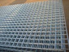 12 Pack Welded Mesh Panels 8x4 2/ 50mm Holes Galvanised Steel 2.5mm Outdoor New