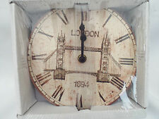 MDF London Bridge Orologio da Parete DIAMETRO 17cm
