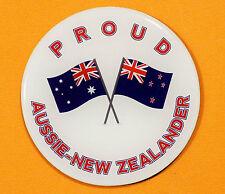 PROUD AUSSIE - NEW ZEALANDER FRIDGE MAGNET AUSTRALIAN SOUVENIR GIFT NEW ZEALAND