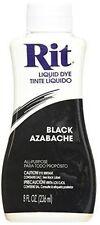 Rit Liquid Dye Black 8 Oz
