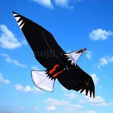 Huge 3D Eagle Bird Kite Single Line Sport Outdoor Wing Flying Kids Chirldren Toy