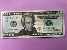 $20 UNIQUE SERIAL NUMBER BIRTHDAY DATE DOLLAR BILL ANNIVERSARY January 5 2020