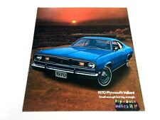 1970 Plymouth Valiant Duster 340 Mopar Original Dealer Sales Brochure Catalog