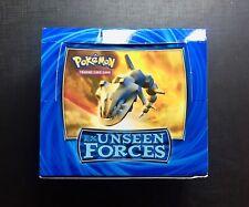 Pokemon Booster Box Eng Ex Unseen Forces VUOTO - EMPTY