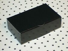 Red or Black Premium Wedding Party Cake Slice Boxes 100x60x30mm