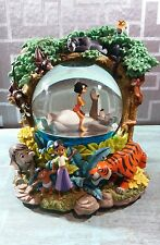 Disney The Jungle Book Snow Globe plays The Bear Necessities Rare