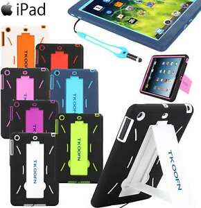 ShockProof Heavy Duty Hard Case Cover For iPad Air 1 2 A1475 A1476 A1566 A1567