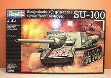 1/35 REVELL SOVIET TANK DESTROYER SU-100 MODEL KIT # 03084