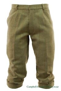 Campbell Cooper New Derby Tweed Plus Four Trousers 30 32 34 36 38 40 42 44
