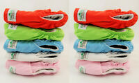 Nappies Cloth New Reusable Bamboo EcoFriendly Baby Nappy Diaper One Size 10 pack