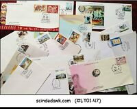 INDIA - SELECTED FIRST DAY COVERS - 20 nos ALL DIFFERENT
