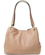 NWT Michael Kors Leather Raven Shoulder Tote Bag Oyster Handbag FACTORY SEALED