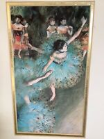 Degas Ballerina Dancers Painting Signed Lithograph VMD5DG/03