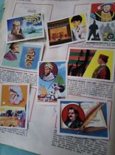 figurine da recupero uomini illustri Panini 1967