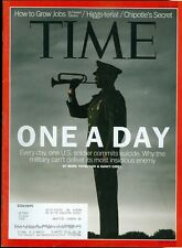 2012 Time Magazine: Military Suicides/PTSD/Chipotle's Secret/How to Grow Jobs