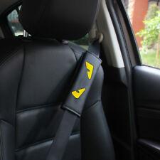 2pcs Eyes Car Shoulder Cover Cushion Seat Belt Pad Strap Backpack Harness Safety