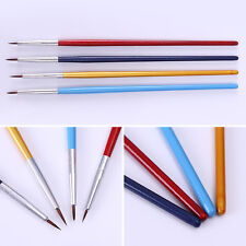 4tlg Nail Art Pinsel UV/Acryl Zeichnung Pinsel Nail Art Bürste