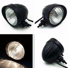 High /Low Beam Head Light Headlight Lamp Retro Motorcycle Cafe Racer Old school
