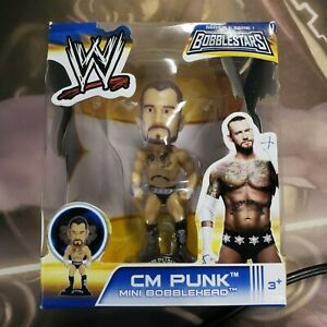 "WWE 3.5"" Bobble Head CM Punk MIB"