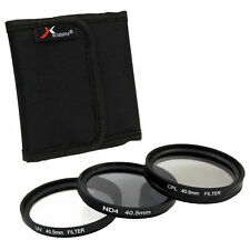 40.5mm UV CPL ND4 Circular Polarizing Lens Filter Kit For Samsung 20-50mm LF280