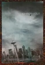 CHRONICLE Movie Poster 27x40 2-Sided Authentic