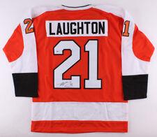 Scott Laughton Signed Flyers Jersey (Beckett Coa) Philadelphia Center