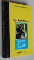 Poirot a Styles Court - Agatha Christie - Mondadori De Agostini - 3523