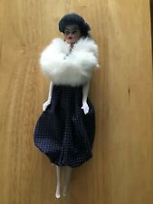 Gay Parisienne 1991 Barbie Doll porcelain 1959 replica