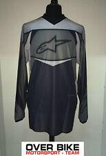 Maglia Cross, Enduro, Trial, Alpinestars Racer Jersey, grigio 376156, TG: XL