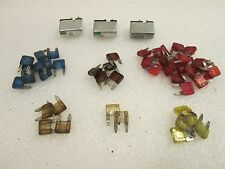 60 pc MINI Blade Fuse Assortment Auto Car Motorcycle SUV FUSES Kit APM ATM