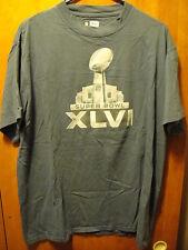 SUPER BOWL XLVI 2014 ~ Large ~ Seahawks VS Broncos ~ T Shirt EUC