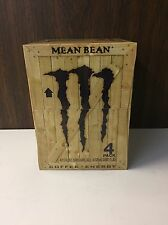Monster Java Mean Bean 11oz Can 4PK . Coffee & Energy .1 Full 4PK Lot. SKU 0516