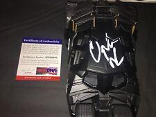 Christian Bale Signed Batmobile Car 1:24 The Dark Knight Trilogy Star PSA/DNA #3
