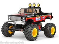 Tamiya 58633 The Blackfoot (Reissue) RC Car Kit DEAL BUNDLE w/ Twin Stick Radio