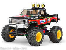Tamiya 58633 The Blackfoot (reedición) RC Coche Kit Deal Paquete Con Doble Palo De Radio