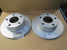 NEW GENUINE SKODA SUPERB REAR BRAKE DISCS PAIR 4A0615601A NEW GENUINE SKODA PART