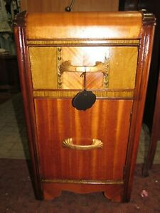Art Deco Waterfall Night stand or end table