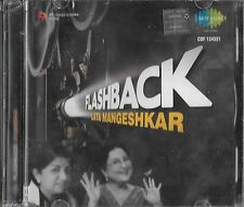 FLASH BACK - LATA MANGESHKAR - NEW BOLLYWOOD SOUND TRACK 2CDs SET - FREE UK POST