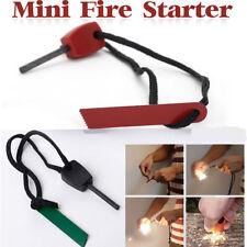 Camping Survival Magnesium Flint And Steel Striker Fire Starter Lighter Sticks#